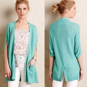Angels of the north green open chrysalis cardigan